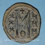 Monnaies Empire byzantin. Michel II d'Amorium (820-829). Follis. Constantinople, 821-829