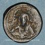 Monnaies Empire byzantin. Monnayage anonyme attribué à Nicéphore III (1078-1081). Follis, classe I