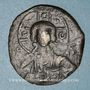 Monnaies Empire byzantin. Monnayage anonyme attribué à Romain III (1028-1034). Follis, classe B