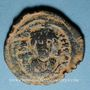 Monnaies Empire byzantin. Phocas (602-610). 1/2 follis. Constantinople, (officine illisible), 603-610