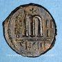 Monnaies Empire byzantin. Phocas (602-610). Follis. Théoupolis, 605-606