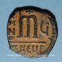 Monnaies Empire byzantin. Phocas (602-610). Follis. Théoupolis (Antioche), 606-607