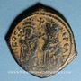 Monnaies Empire byzantin. Phocas (602-610). Follis. Théoupolis (Antioche), 607-608