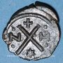 Monnaies Empire byzantin. Révolte d'Héraclius (608-610). Décanoummion. Carthage, 608-610