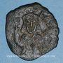 Monnaies Empire byzantin. Théophile (829-842). Follis. Atelier provincial, 830/831-842