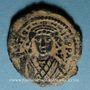 Monnaies Empire byzantin. Tibère II Constantin (578-582). 1/2 follis. Théoupolis (Antioche), 580-581