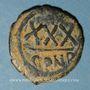 Monnaies Empire byzantin. Tibère II Constantin (578-582). 3/4 follis (= 30 noummia). Constantinople, 579-582
