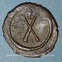 Monnaies Empire byzantin. Tibère II Constantin (578-582). Décanoummion. Constantinople, 579-582