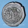 Monnaies Héraclius (610-641) et Héraclius Constantin (613-631). Follis. Constantinople, 3e officine, 613