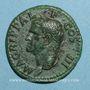 Monnaies Agrippa († 12 av. J-C). As. Rome, 37. R/: Neptune