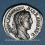 Monnaies Alexandre Sévère (222-235). Denier. Rome, 222-228. R/: l'Equité