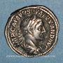 Monnaies Alexandre Sévère (222-235). Denier. Rome, 225. R/: la Fidélité militaire