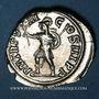 Monnaies Alexandre Sévère (222-235). Denier. Rome, 229. R/: Mars marchant à gauche
