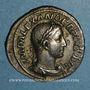 Monnaies Alexandre Sévère (222-235). Denier. Rome, 232. R/: Jupiter