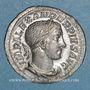 Monnaies Alexandre Sévère (222-235). Denier. Rome, 232. R/: Mars
