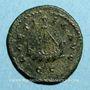 Monnaies Allectus (293-296). Antoninien. Colchester, 294-296. R/: galère