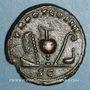 Monnaies Antonin le Pieux (138-161). As. Rome, 140. R/: instruments de sacrifice
