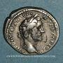 Monnaies Antonin le Pieux (138-161). Denier. Rome, 142. R/: Génie