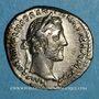 Monnaies Antonin le Pieux (138-161). Denier. Rome, 150-151. R/: la Paix