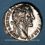 Monnaies Antonin le Pieux (138-161). Denier. Rome, 155-156. R/: l'Abondance assise à droite