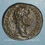 Monnaies Antonin le Pieux (138-161). Sesterce. Rome, 143-144. R/: Victoire