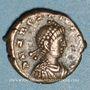 Monnaies Arcadius (383-408). 1/2 centénionalis. Héraclée ou Nicomédie(?), 388-395. R/: victoire marchant à g.