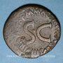 Monnaies Auguste (27 av. - 14 ap. J-C). As émis par M. Maecilius Tullus. Rome, 7 av. J-C