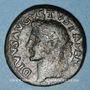 Monnaies Auguste (27 av. - 14 ap. J-C). As frappé sous Tibère. Rome, 34-37. R/: aigle éployé
