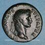 Monnaies Auguste (27 av. - 14 ap. J-C). As frappé sous Titus. Rome, 80-81. R/: aigle debout sur un foudre