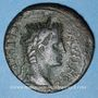 Monnaies Auguste (27 av. - 14 ap. J-C). As. Lyon, 10-7(?) av. J-C. R/: autel de Lyon orné de figures