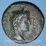 Monnaies Auguste (27 av. - 14 ap. J-C). As. Lyon, 10-7(?) av. J-C. R/: autel de Lyon