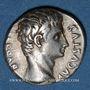 Monnaies Auguste (27 av. - 14 ap. J-C). Denier. Colonia Patricia, 19-18 av. J-C