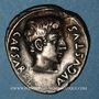 Monnaies Auguste (27 av. - 14 ap. J-C). Denier frappé par P. Petronius Turpilianus. Rome, 19 av. J-C.