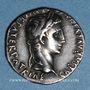Monnaies Auguste (27 av. - 14 ap. J-C). Denier. Lyon, 2 av. - 4 ap. J-C. R/: Caius et Lucius