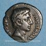 Monnaies Auguste (27 av. - 14 ap. J-C). Denier. Rome, 19 av. J-C