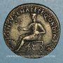 Monnaies Auguste (27 av. - 14 ap. J-C). Dupondius frappé sous Caligula. Rome, 37-41. R/: Auguste