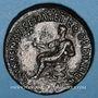 Monnaies Auguste (27 av. - 14 ap. J-C). Dupondius frappé sous Caligula. Rome, après 41. R/: Caligula(?)