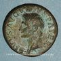 Monnaies Auguste (27 av. - 14 ap. J-C). Dupondius frappé sous Tibère. Rome, 22-26. R/: S-C
