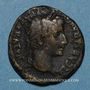 Monnaies Auguste (27 av. - 14 ap. J-C). Semis. Lyon, vers 12/14 av. J-C. R/: autel