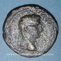 Monnaies Auguste (27 av. - 14 ap. J-C). Sesterce. Lyon, 10-14 ap. J-C. Contremarque ART en monogramme