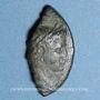 Monnaies Auguste et Agrippa. As (= dupondius coupé). Nîmes, 10 avant - 10 après J-C.