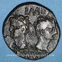 Monnaies Auguste et Agrippa. Dupondius. Nîmes, 16 - 10 avant J-C.