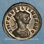 Monnaies Aurélien (270-275). Antoninien. Ticinum, 1ère officine, 274. R/: la Fidélité
