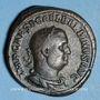 Monnaies Balbin (238). Sesterce. Rome, 238. R/:Victoire debout