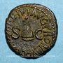 Monnaies Caligula (37-41). Quadrans. Rome, 40