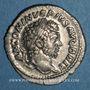 Monnaies Caracalla (198-217). Denier. Rome, 213. R/: Hercule