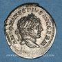 Monnaies Caracalla (198-217). Denier. Rome, 215. R/: la Fidélité Militaire