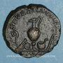 Monnaies Caracalla, césar sous Septime Sévère (195-198). As. Rome, 196. R/: instruments sacerdotaux