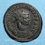 Monnaies Carin (283-285). Antoninien. Antioche, 2 officine, 283-284. R/: Carus & Numérien