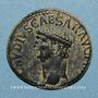 Monnaies Claude (41-54). As. Rome, 41-42. R/: la Constance